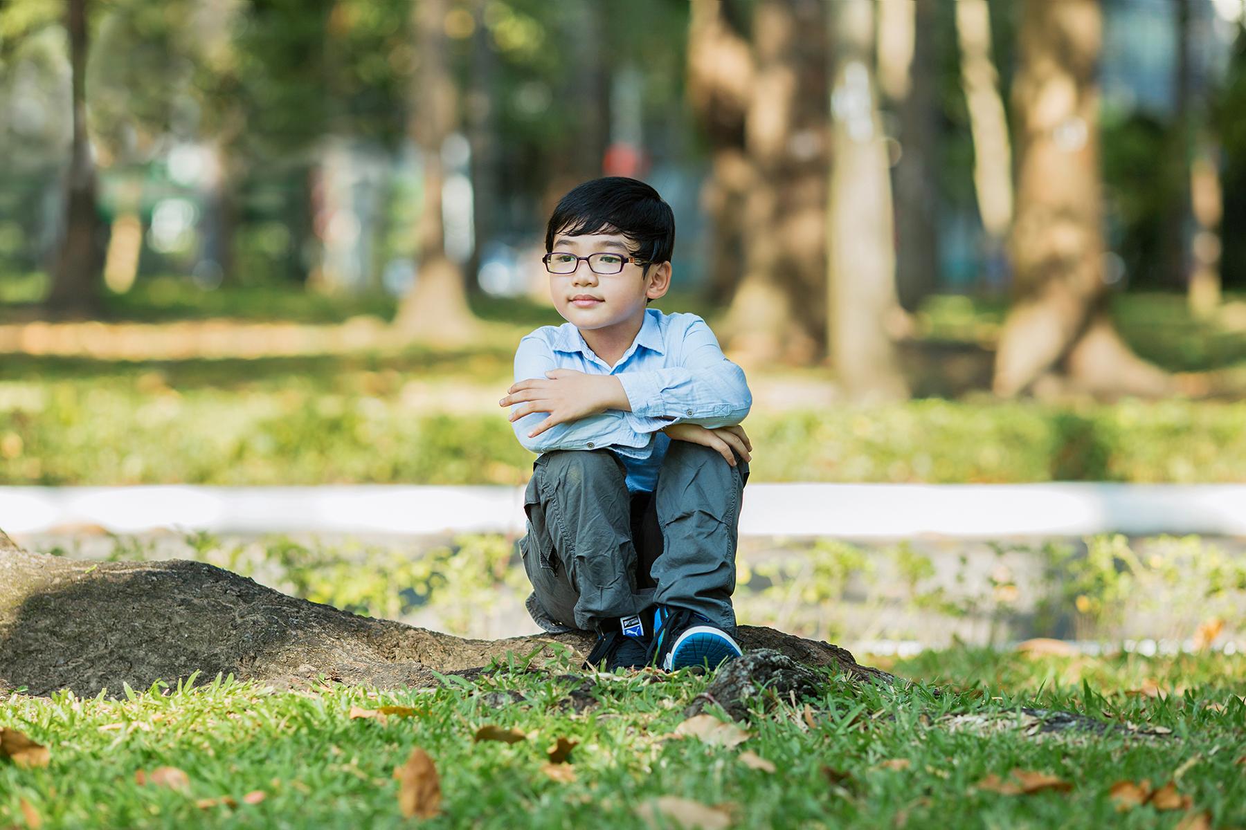 chụp ảnh cho bé 6 tuổi
