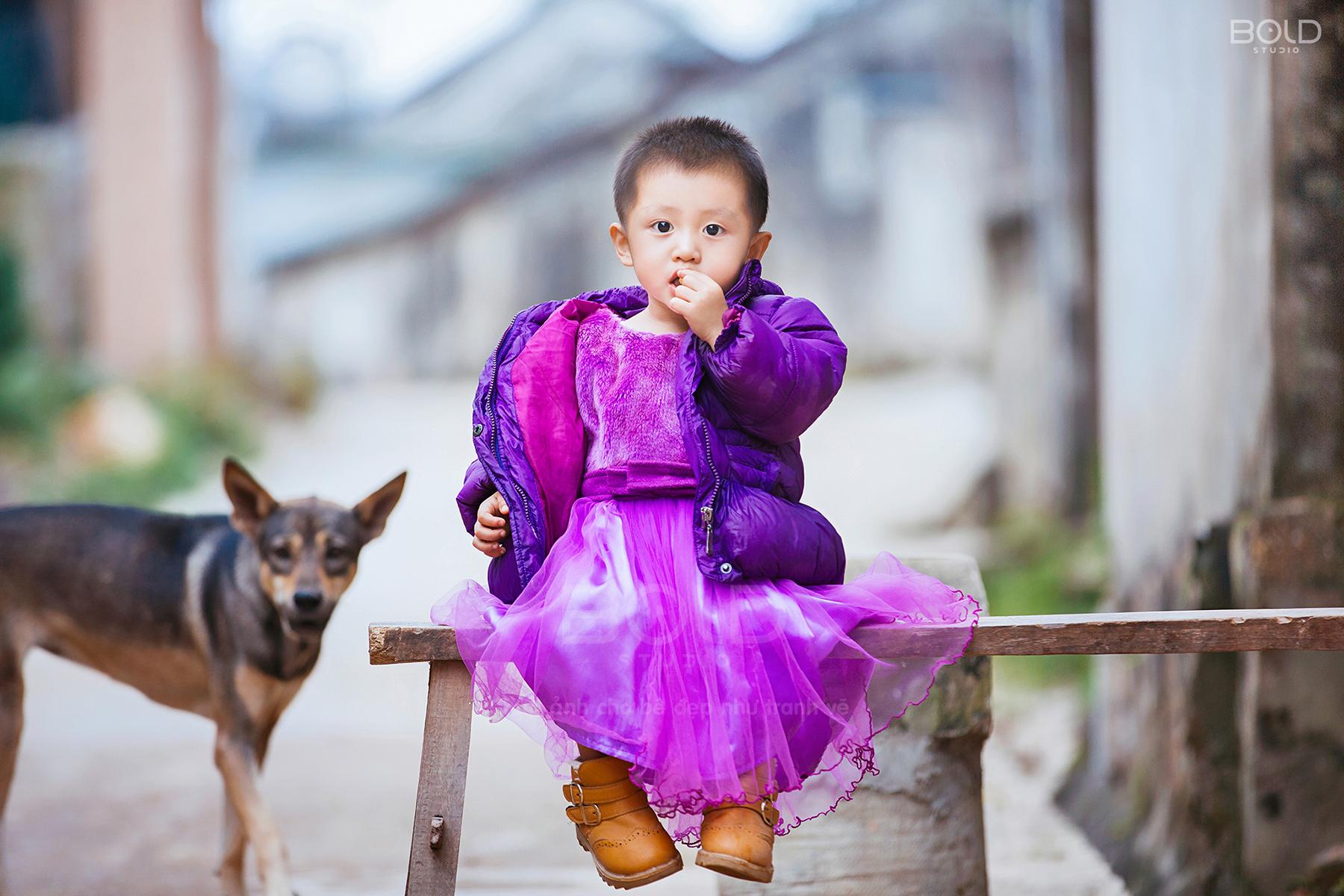 chụp ảnh cho bé ở nghệ an