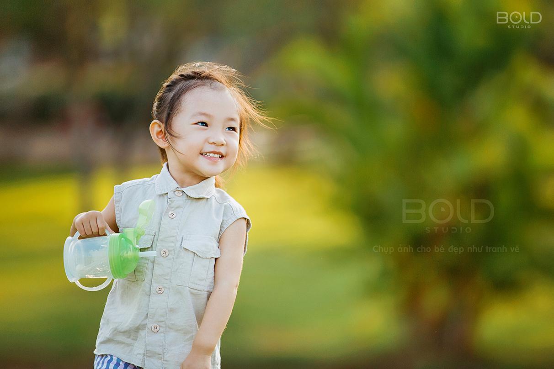 Những giá trị nhận được khi chụp ảnh cho bé tại Bold Studio