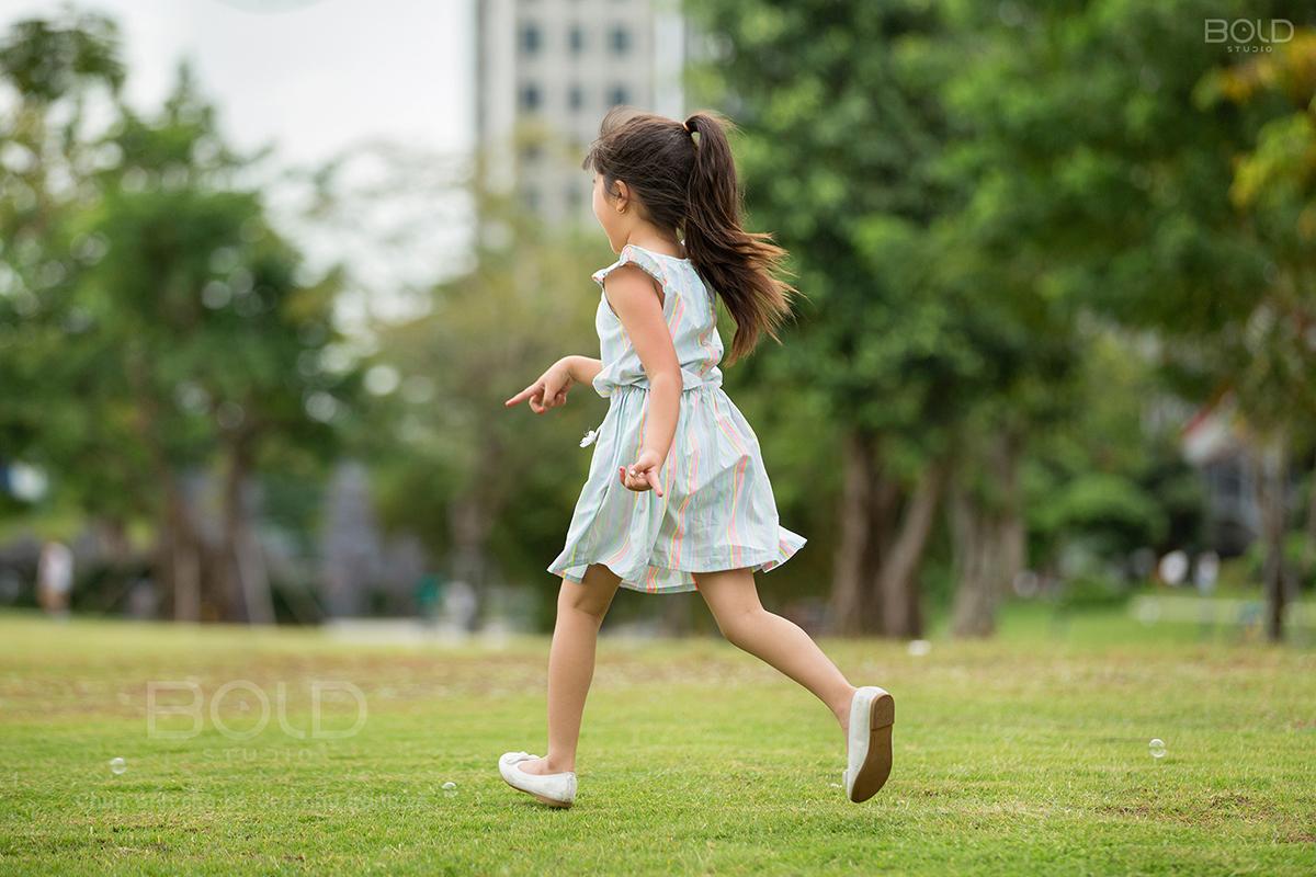 chụp ảnh cho bé ở vinhomes central park
