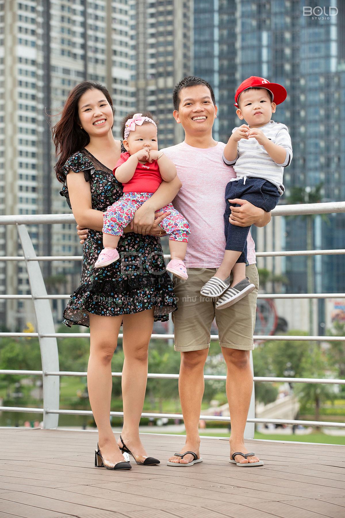 chụp hình gia đình đẹp