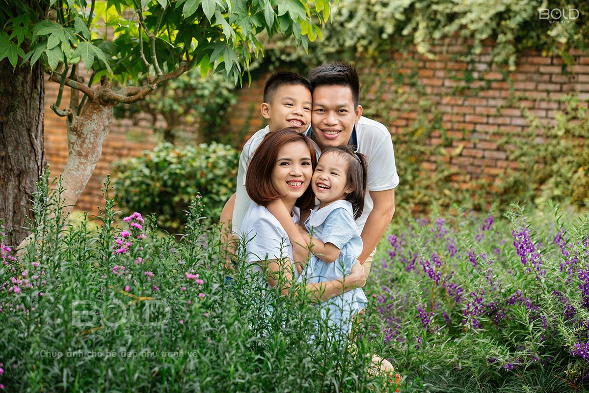 chụp hình gia đình ở đà lạt