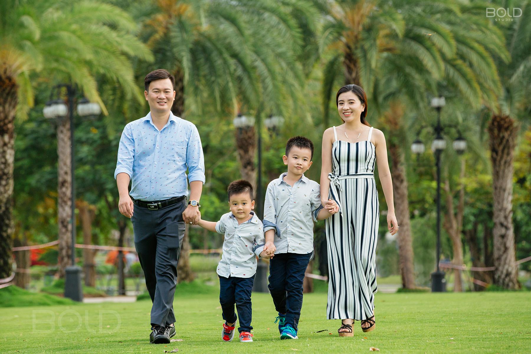 chụp hình gia đình ở đâu đẹp
