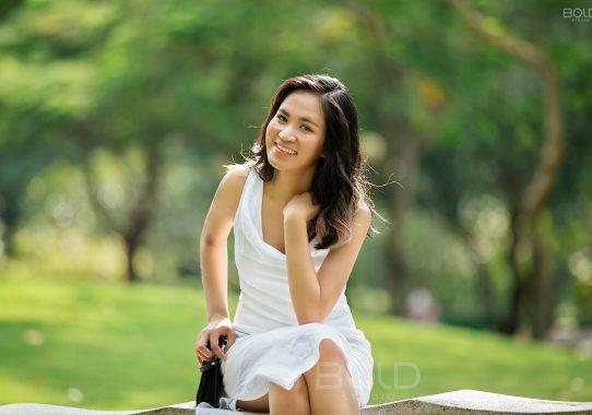 Chụp ảnh chân dung ở Gò Vấp | Miss Châu Yến Trinh
