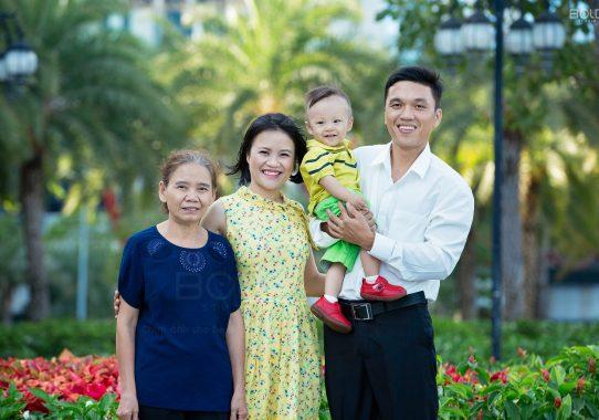 Chụp ảnh chân dung gia đình