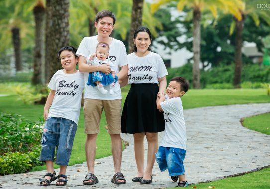 Studio chụp ảnh gia đình đẹp