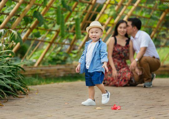 Chụp ảnh gia đình chị Thanh Xuân