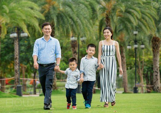 Chụp ảnh gia đình ở quận Gò Vấp