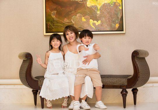 Chụp ảnh gia đình chị Phương Cao