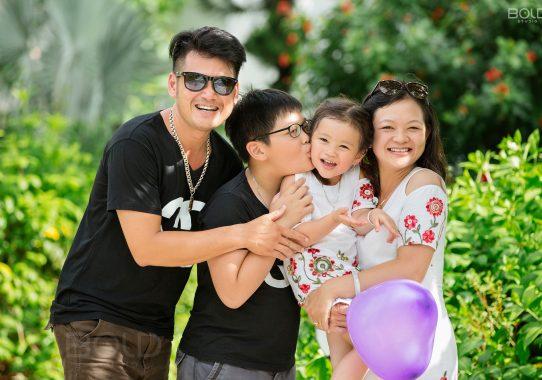 Chụp ảnh gia đình ở quận 1