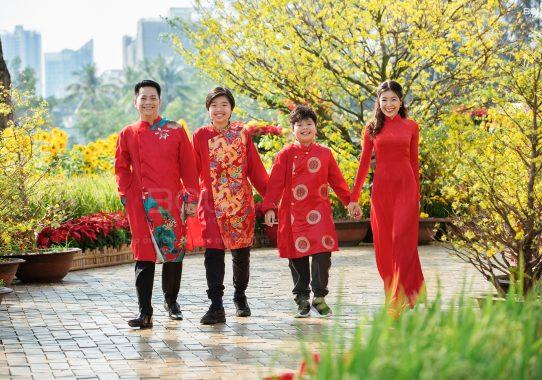 Chụp ảnh gia đình chị Song Thy