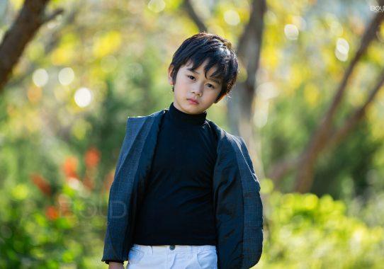 Chụp ảnh cho bé Huy Khang ở Đà Lạt
