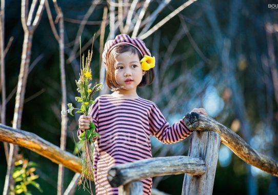 Chụp ảnh cho bé Mít ở Đà Lạt