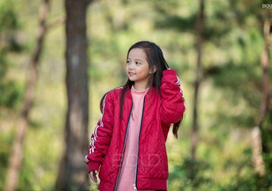 Chụp ảnh cho bé Vịt ở Đà Lạt