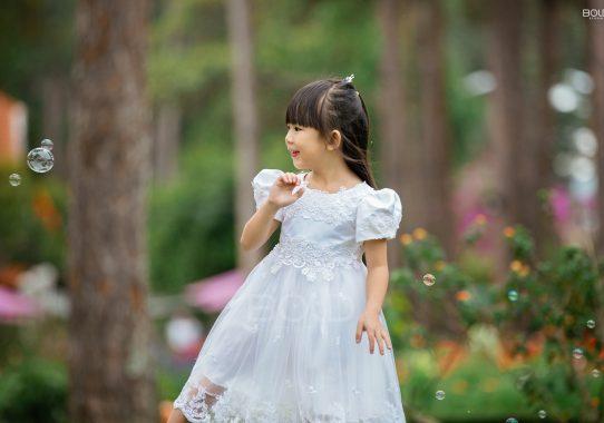 Chụp ảnh cho bé An ở Đà Lạt