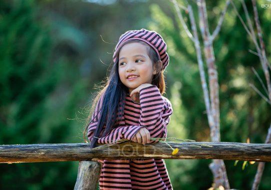 Chụp ảnh cho bé ở Đà Lạt