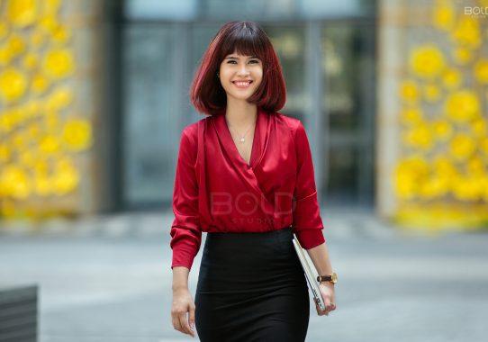 Chụp ảnh doanh nhân | Chị Hoàng Oanh