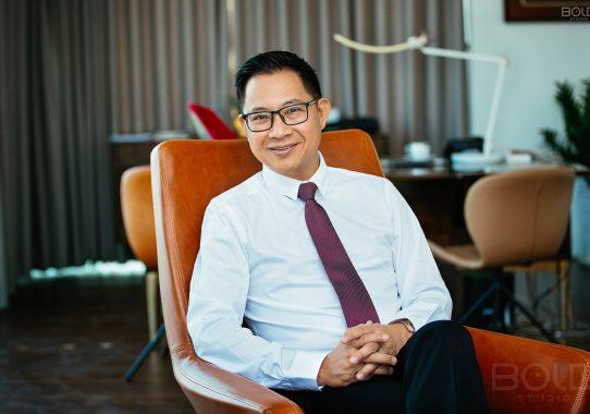 Chụp ảnh doanh nhân Lý Quí Trung
